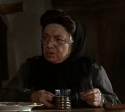 Yenta, the matchmaker from Fiddler on the Roof