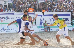 Israel  vs Brazil  - Solidarity  Match 2008