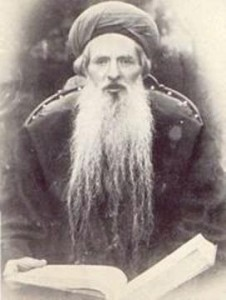 Portrait of Rabbi Chaim Chizkiyahu Medini (1833-1904), author of Sdei Chemed and Chief Rabbi of Crimea for 33 years.