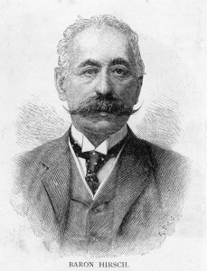 Baron Maurice (Zvi) de Hirsch (1831–1896), who built the Russian railway system, was an example of the new Jew in the rapidly urbanizing Russia: upwardly mobile but an increasing source of anti-Semitism.