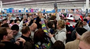 Black Friday Shopping Madness