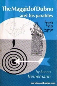 The Dubno Maggid is recognized as one of the greatest teachers through the use of parables that the Jewish people have ever had.