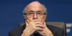 FIFA head, Sepp Blatter